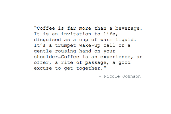 Coffee Musings